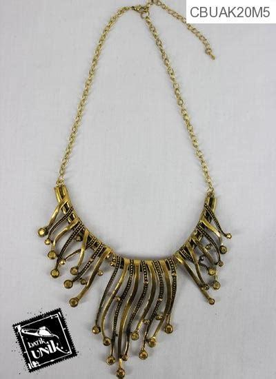 kalung coker tembaga bagar emas kalung etnik murah batikunik