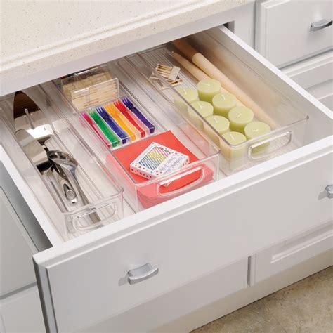 tiroir placard bac transparent pour placard rangement cuisine