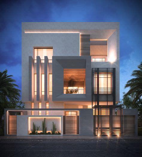 latest home exterior design trends 2015 واجهات فلل دورين مودرن 2017 احدث الصور و احدث التصميمات