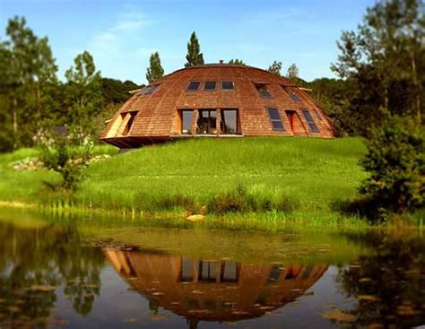 Dome Shaped House by Eco Friendly Domespace Houses Gyrate To Make The Best Of