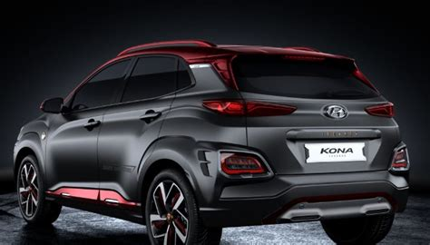 2020 Hyundai Kona Release Date by 2020 Hyundai Kona Iron Edition Colors Release Date
