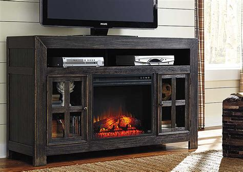 tv stands with fireplace insert w a akins sons gavelston large tv stand w led fireplace insert