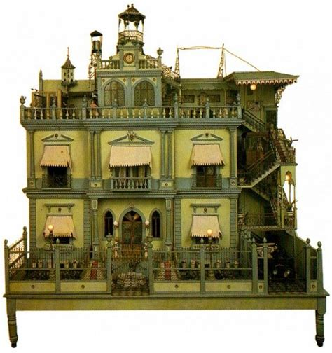 the haunted doll house haunted dollhouse halloween pinterest