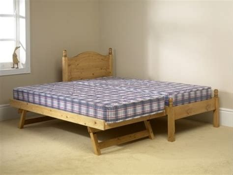 2ft 6 Mid Sleeper by Friendship Mill 3ft Single Pine Wooden Guest Bed Frame By