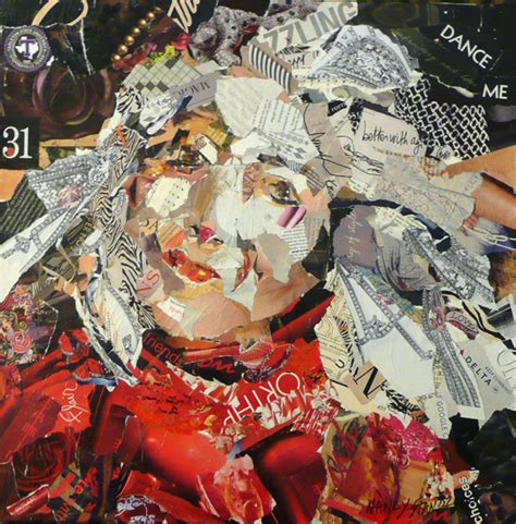 How To Make Paper Collage - how to make a torn paper collage portrait
