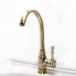 antique bronze single handle kitchen sink faucet vessel antique brass oil rubbed bronze single handle kitchen