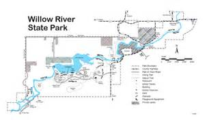 Willow River State Park Map by Willow River State Park Map Willow River State Park Wi