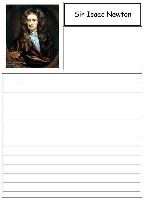 isaac newton biography paper 31 best images about scientific revolution for kids on