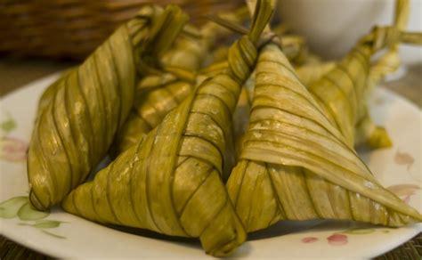 cara membuat makanan ringan hari raya cara membuat ketupat pulut khas lebaran lezat sajian