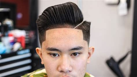 how to draw comb over hair cut mens haircut tutorial combover blowdry style low