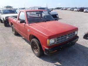 blue book value used cars 1992 chevrolet s10 blazer parking system totaled 1989 chevrolet s10 for sale in al tanner lot 24667403