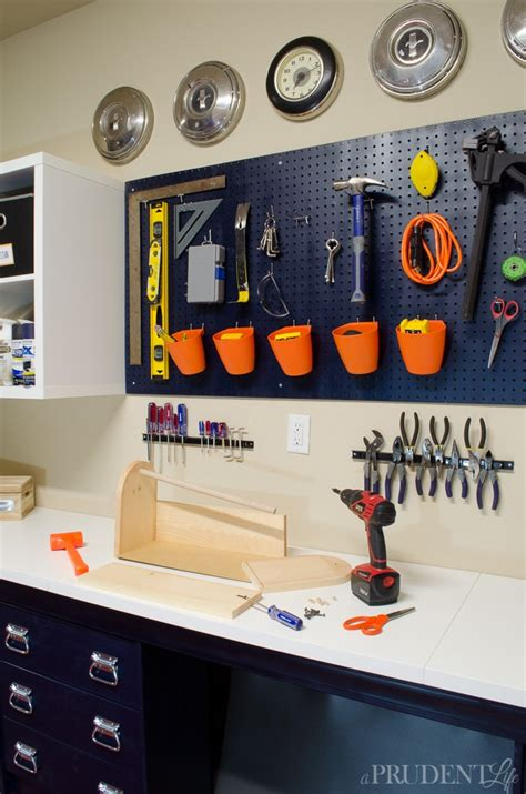Ikea Tool Storage garage workbench diy how we ikea hacked garage storage