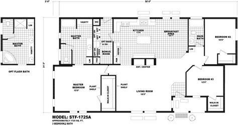 cavco floor plans sante fe 1725a homes direct