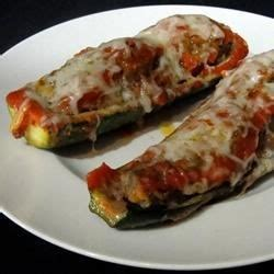 rock the zucchini boat italian meatloaf in zucchini boats photos allrecipes