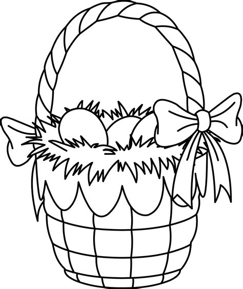 coloring pages easter eggs basket easter baskets coloring pages coloring part 2