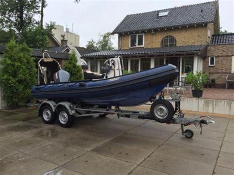 motorboot met trailer te koop duarry ex politie boot klpd yamaha v4 115pk met trailer