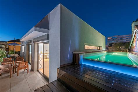 Lyon, Lyon 3ème : Penthouse d?exception avec terrasse et piscine Agence EA Lyon