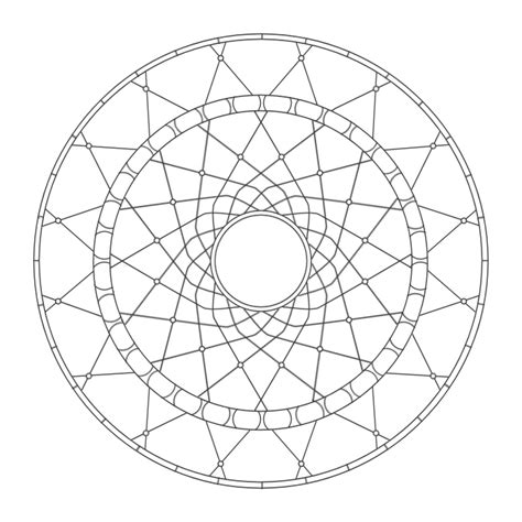 dreamcatcher template coloring mandalas 27 dreamcatcher