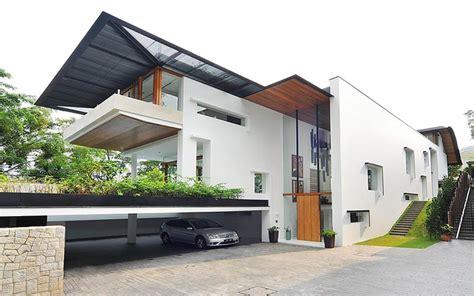 modern tropical bungalow dalvey road house by guz architects designrulz