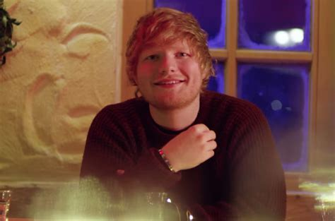 ed sheeran perfect actress ed sheeran slow dances in the snow and cuddles kittens in