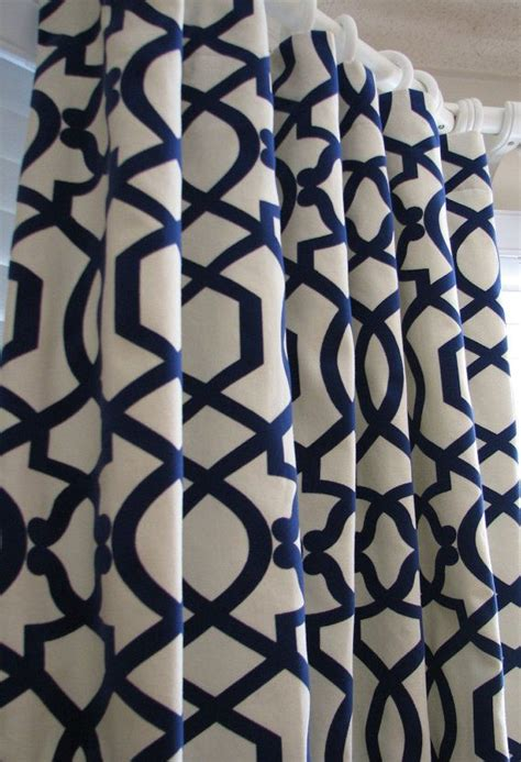 navy and cream curtains 25 best ideas about navy curtains bedroom on pinterest