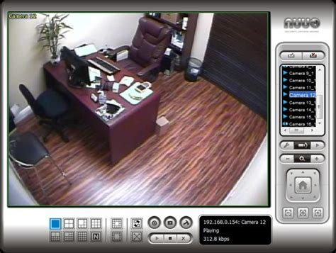 web live view nuuo surveillance systems nuuo ip software nuuo