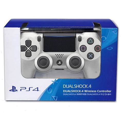 New Dualshock 4 Controller For Playstation 4 Cuh Zct2 Magma Official Sony Playstation 4 New Dualshock 4 Ps4 Silver