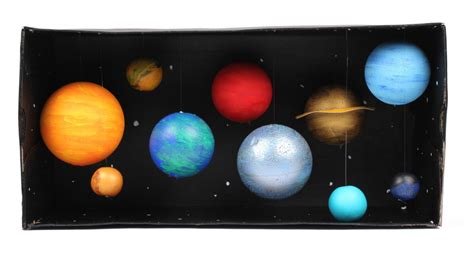Poster Hanging Ideas by How To Make A Model Solar System Hobbycraft Blog