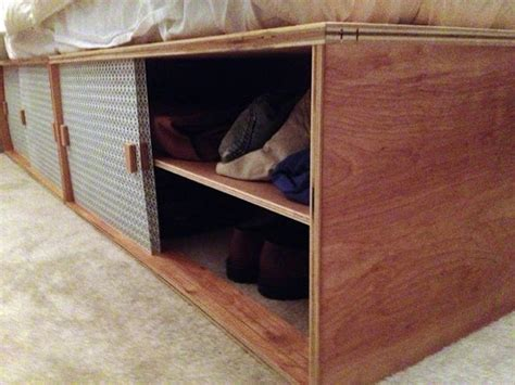 box bed how to build a modern space saving box bed lifehacker
