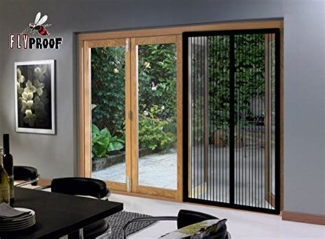 Patio Door Screens Magnetic Home Hardware Magnetic Screen Doors Mesh Curtain 72 Quot W X 80 Quot H Sliding Patio Doors Ebay