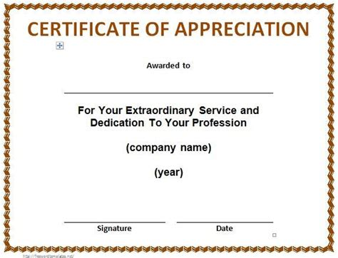 sle template of certificate of appreciation army certificate of appreciation template lukex co