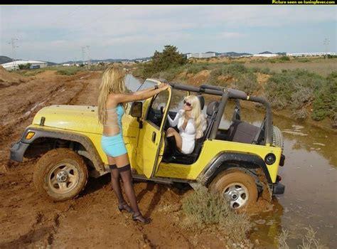 muddy jeep pics max 12110 277518 jeep girls got stuck on a muddy path