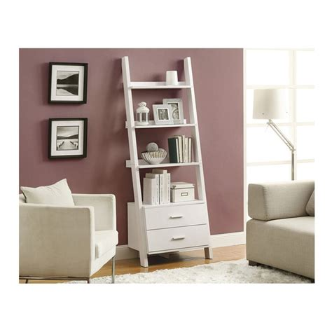 187 Top 22 Ladder Bookcase And Bookshelf Collection For Your White Bookcases With Drawers