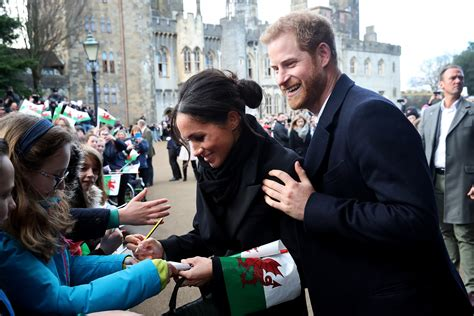 harry and meghan how meghan markle broke royal protocol for young fan in