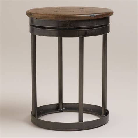 World Market Industrial Stool by Galvin Industrial Stool Industrial Stool World Market