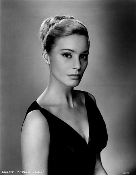 picture of ingrid thulin ingrid thulin biography ingrid thulin s famous quotes