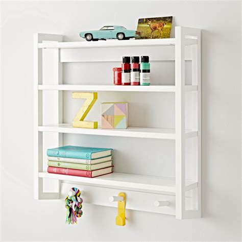 beaumont white wall rack the land of nod
