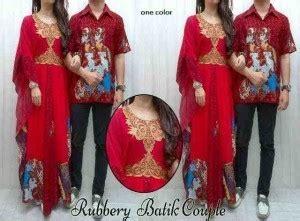Baju Gamis Kopel Baju Batik Rubbery Cp 572 Gamis Pasangan Modern