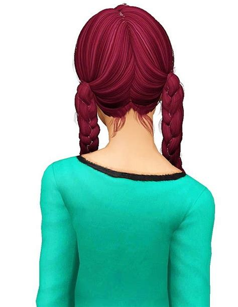 weed hairstyles newsea s weed flower hairstyle retextured by pocket sims