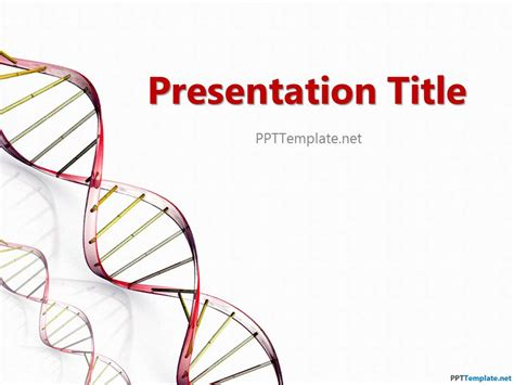 dna powerpoint templates free free chemistry ppt template