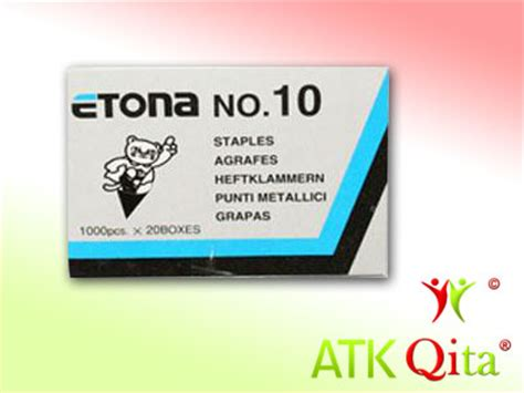 Isi Staples No 10 isi staples no 10 etona