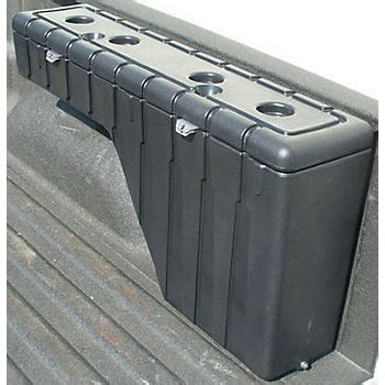 truck bed storage containers 31400 vertically driven products wheel well storage