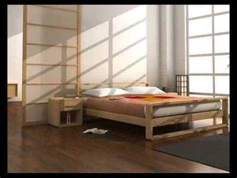 letti baldacchino legno letti giapponesi letti in legno