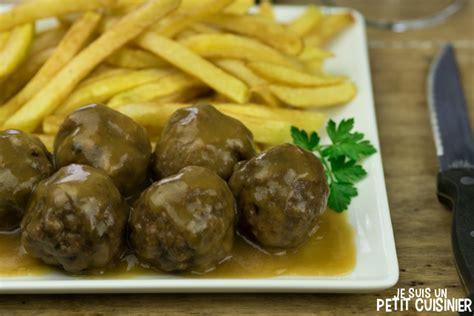 comment cuisiner des boulettes de viande recette de boulettes de viande la recette facile