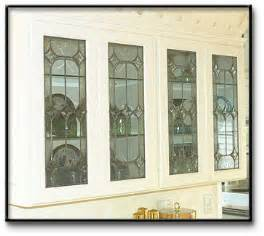 Decorative Glass Cabinet Doors Home Improvement Ideas Kitchen Cabinet Doors With Decorative Stained Glass Stain Glass For