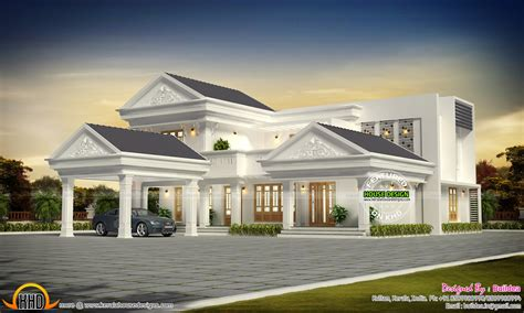 kerala home design 3000 sq ft modern kerala home design in 3000 sq ft kerala home