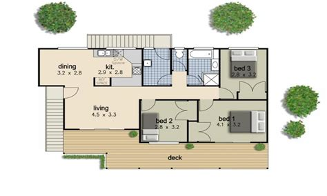 simple 3 bedroom house floor plans simple 3 bedroom house