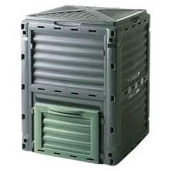 bauhaus komposter im garten thermokomposter slim line 300 l 60 x 60 x 83 cm bauhaus