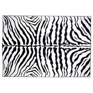 Zebra Area Rug L A Rugs Zebra Skin Area Rug Rugs At Hayneedle