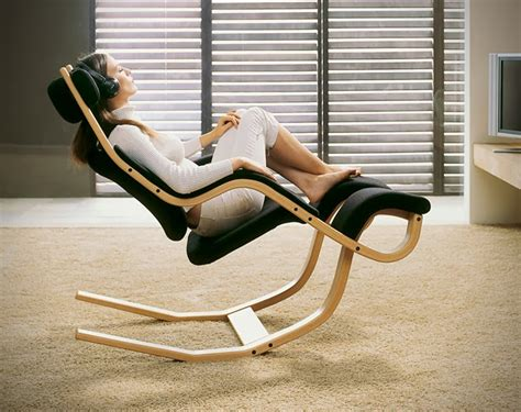 homemade recliner chair reclining gravity balans chair icreatived